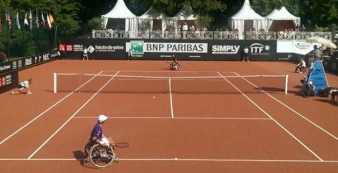 Adrexo partenaire du 29ème Open de France BNP Paribas de Tennis-fauteuil