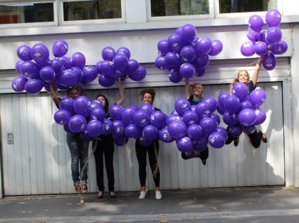 Opération Street Marketing Balloons Carrefour Tours (06/09/2014)