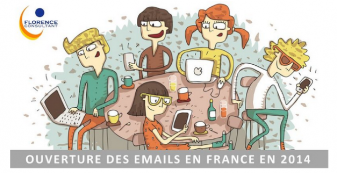 [Infographie] Ouverture des emails en France en 2014