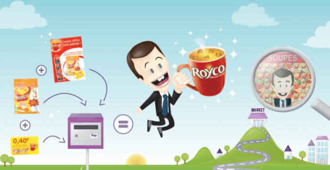 Infographie – Recette gagnante pour ROYCO