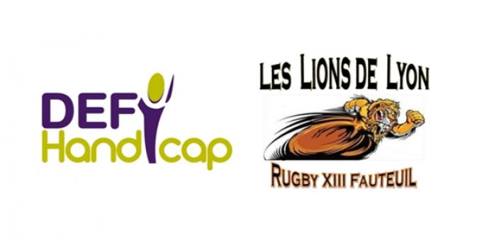 Adrexo et la Mission DEFI Handicap aux côtés de la 1ère Ecole française de rugby XIII fauteuil pour enfants