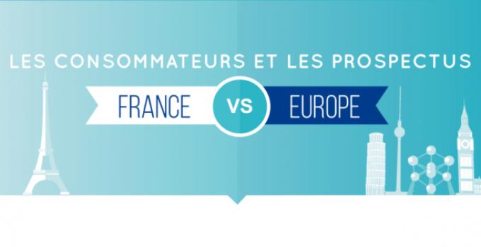 Les consommateurs et les prospectus : France vs Europe