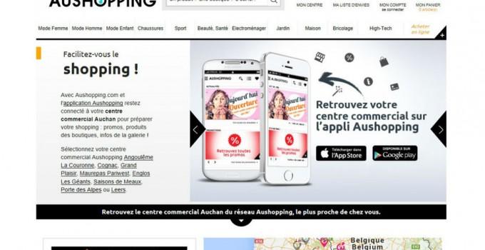 Auchan et Carrefour dévoilent leur vision du centre commercial digital