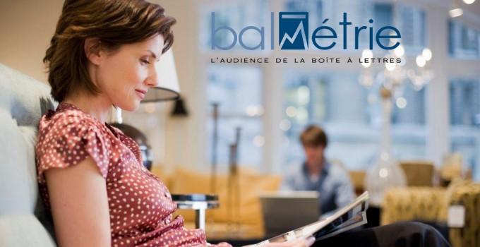 La 4ème vague de résultats BALmétrie montre une hausse de l'audience de l'Imprimé Publicitaire en 2015