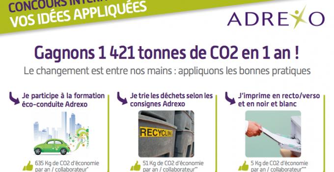 Adrexo et Midas partenaires dans la réduction du CO2