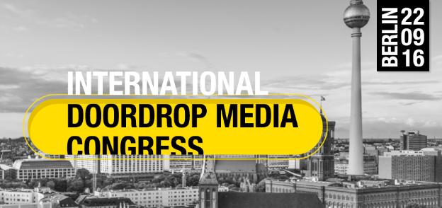 DOORDROP MEDIA 2016 le 22 septembre 2016 à Berlin : l'avenir du média prospectus au cœur des débats et conférences !