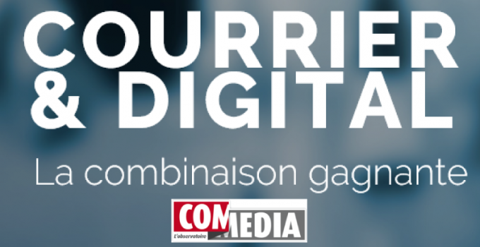 « Courrier & Digital : La combinaison gagnante » (7 oct 2016) : le futur du media courrier au cœur de l'événement