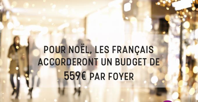 Les Français augmentent leur budget pour Noël