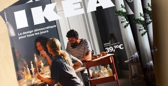 [COMARKETINGNEWS] : À l'heure du digital, le catalogue Ikea règne encore en maître